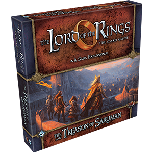The Treason of Saruman LOTR LCG -  Fantasy Flight Games