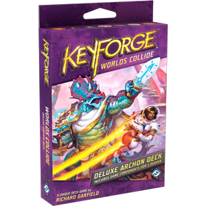 Worlds Collide KeyForge Deluxe Deck -  Fantasy Flight Games