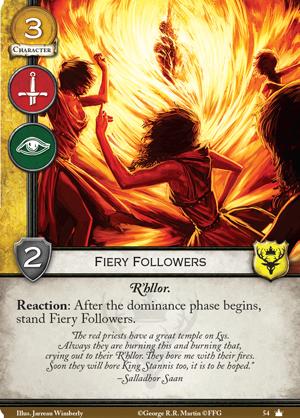 Spoils de la V2 Fiery-followers
