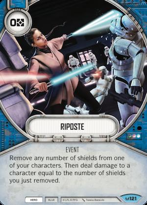 Star Wars Destiny 1x #115 defence attitude-Awakenings
