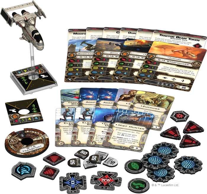 NEW X-WING: Jumpmaster 5000 & G1A Pilots REVEALED! - Spikey Bits