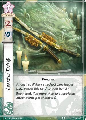 Los dragón - L5c01_ancestral-daisho