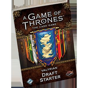 Valyrian Draft Starter: Game of Thrones LCG 2nd Edition -  Fantasy Flight Games