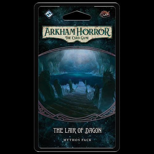 Lair of Dagon Mythos Pack Arkham Horror LCG -  Fantasy Flight Games