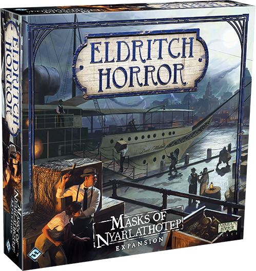 Eldritch Horror: Masks of Nyarlathotep - Campaigns