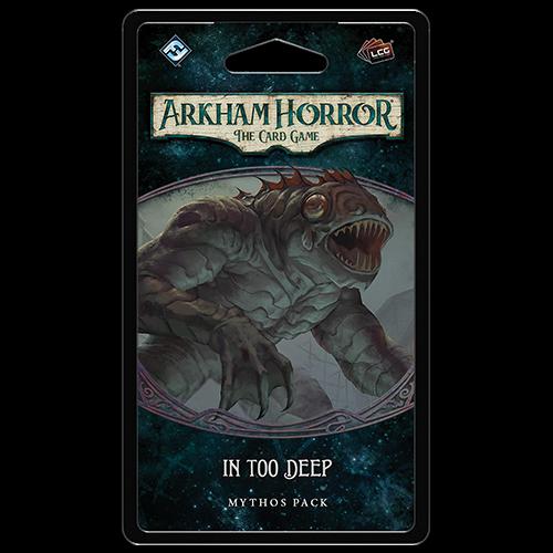 In Too Deep Mythos Pack: Arkham Horror LCG -  Fantasy Flight Games