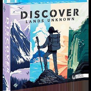Discover: Lands Unknown -  Fantasy Flight Games