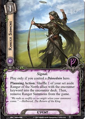 [Discussion] Deck Mono-Gandalf Ranger-summons