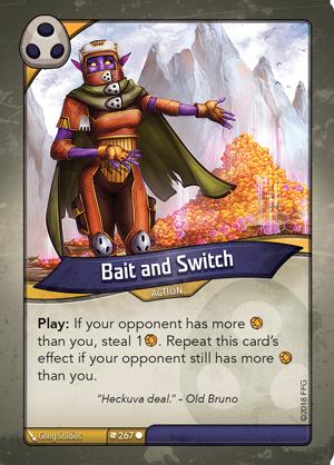 Keyforge Kf01_bait-and-switch