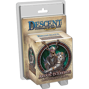 Descent: Ardus Ix Erebus Lieutenant Pack (T.O.S.) -  Fantasy Flight Games