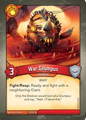 Card image for War Grumpus