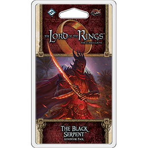 The Black Serpent: Lord of the Rings LCG -  Fantasy Flight Games