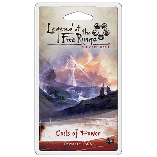 Coils of Power Dynasty Pack: L5R LCG -  Fantasy Flight Games