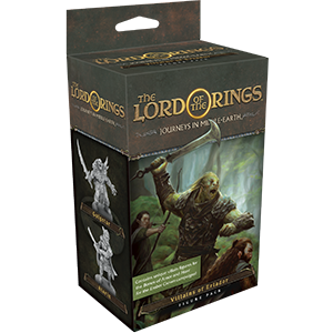 Villains of Eriador: The Lord of the Rings: Journeys in Middle-Earth Board Game (T.O.S.) -  Fantasy Flight Games