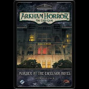 Murder at the Excelsior Hotel Arkham Horror LCG -  Fantasy Flight Games