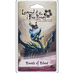 Bonds of Blood Dynasty Pack: L5R LCG -  Fantasy Flight Games