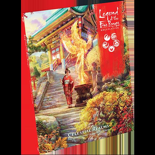 Celestial Realms Legend of Five Rings RPG -  Fantasy Flight Games