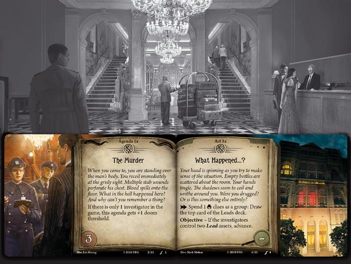 Murder at the Excelsior Hotel - Fantasy Flight Games