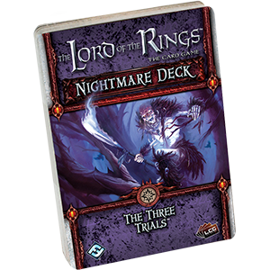 LOTR The Three Trials Nightmare Deck -  Fantasy Flight Games