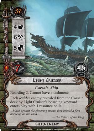 "5e extension Deluxe ""The grey havens"" Light-cruiser"
