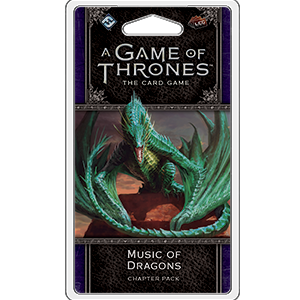 Music of Dragons Chapter Pack: Game of Thrones LCG -  Fantasy Flight Games