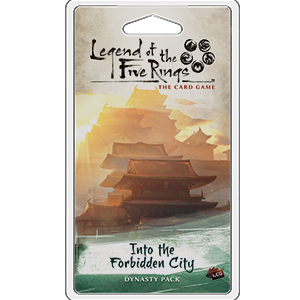 Into the Forbidden City Expansion Pack: L5R LCG -  Fantasy Flight Games