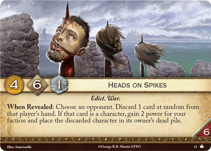 [JCE/LCG] Le Trône de Fer/A Game of Thrones 2nd Edition - Page 11 Heads-on-spikes