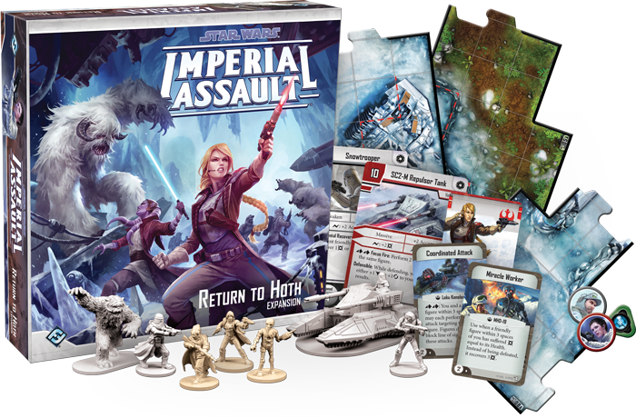 Return to Hoth - Star Wars: Imperial Assault Expansion