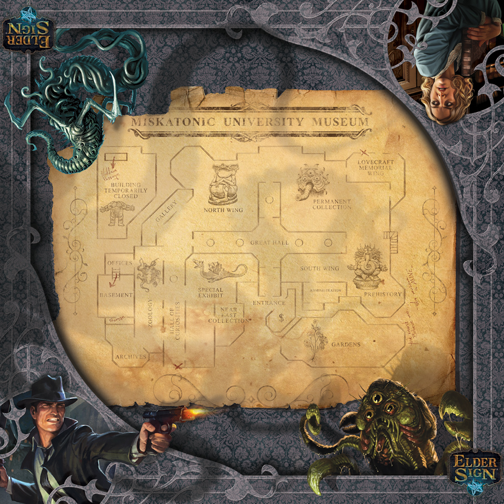 Image result for elder sign museum mat