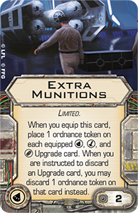 X-Wing K-Wing Extra Munitions