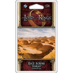 Race Across Harad Adventure Pack: Lord of the Rings LCG -  Fantasy Flight Games