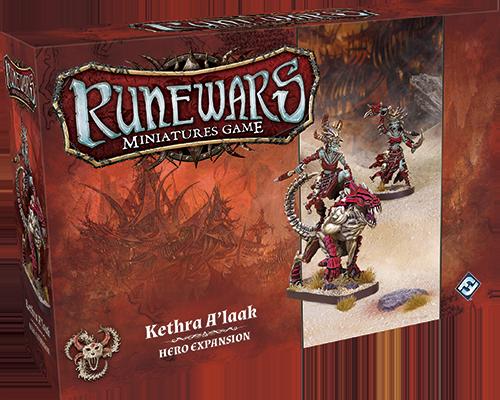 Runewars Miniatures: Kethra A'laak