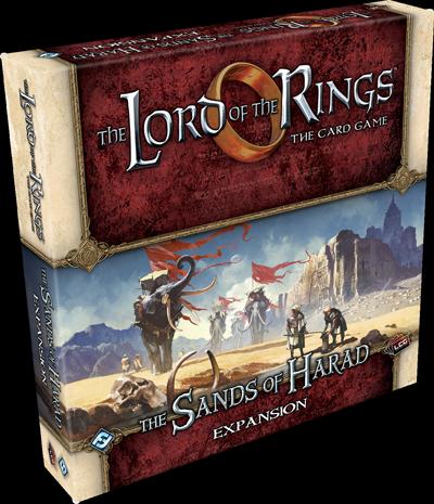 The Sands of Harad Expansion: LOTR LCG -  Fantasy Flight Games