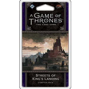 Streets of Kings Landing Chapter Pack: AGOT LCG 2nd Edition -  Fantasy Flight Games