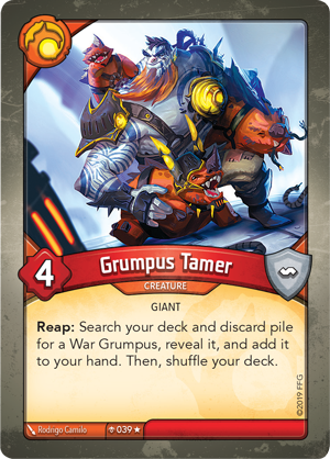 Card image for Grumpus Tamer