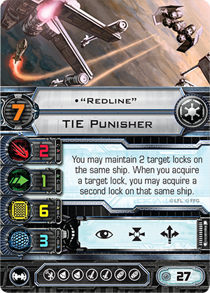TIE Punisher Redline