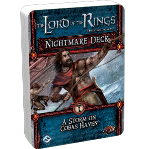 A Storm on Cobas Haven Nightmare Deck - Fantasy Flight Games