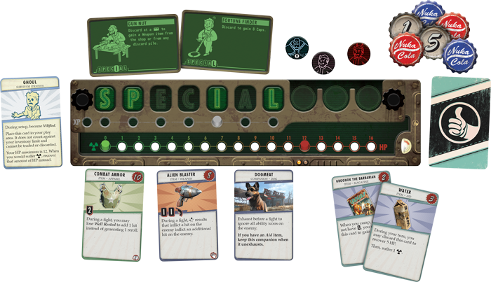 Fallout: The Board Game - Fantasy Flight Games