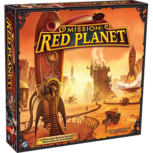 Mission: Red Planet (T.O.S.) -  Fantasy Flight Games