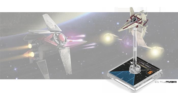 Star Wars X-Wing Expansiones Nimbus-class V-Wing Pack novedades GEN CON 2020. Fantasy Flight Games in flight 2020