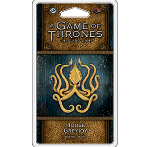 House Greyjoy Intro Deck: Game of Thrones -  Fantasy Flight Games