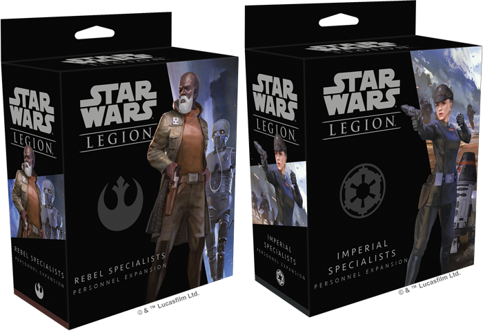 Star Wars: Legion- Personnel Expansion