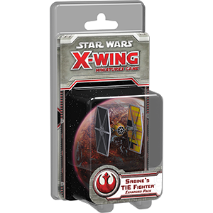 Sabines TIE Fighter Expansion Pack: X-Wing -  Fantasy Flight Games