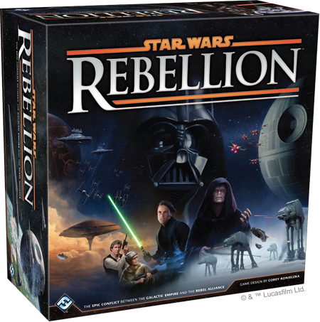 DAMAGED BOX Rise Of The Empire Expansion for the Star Wars Rebellion Board Game
