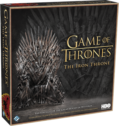 The Iron Throne: HBO Game of Thrones -  Fantasy Flight Games