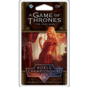 2016 World Championship Joust Deck: A Game of Thrones LCG 2nd Edition -  Fantasy Flight Games