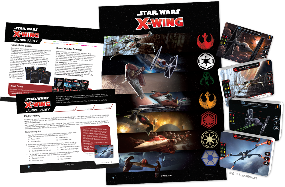 X-Wing Second Edition Launch Party