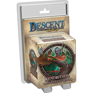 Descent: Kyndrithul Lieutenant Pack -  Fantasy Flight Games