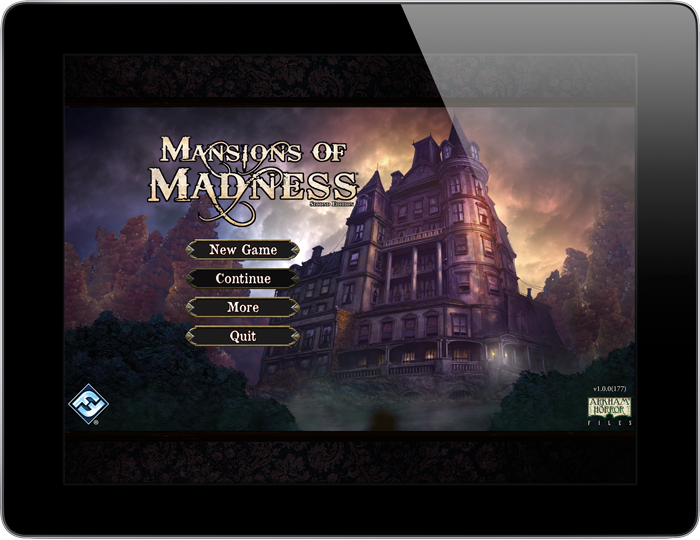 Image result for mansions of madness 2nd edition tablet