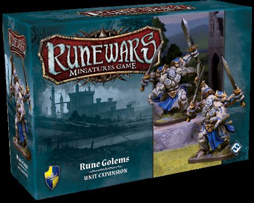 Runewars Miniatures: Rune Golems